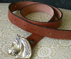 70s, belt, and western image