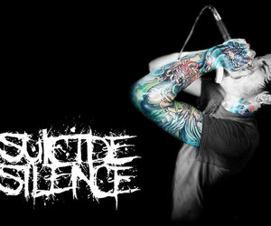 suicide silence, bands, and mitch image