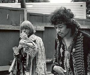 Jimi Hendrix, Brian Jones, and 60s image