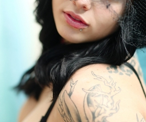 tattoo, girl, and radeo image