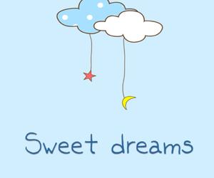 Dream, night, and star image