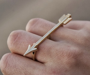arrow and ring image