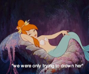 mermaid, peter pan, and disney image