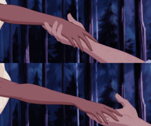 disney, forest, and hands image