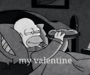 valentine, food, and funny image