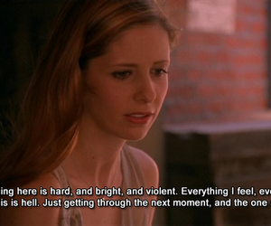 buffy, buffy the vampire slayer, and depression image