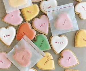 heart, food, and Cookies image