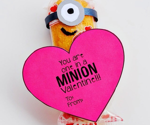 minions and valentine image