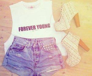 fashion, outfit, and Forever Young image