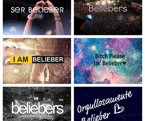 justin bieber, believe in your dreams, and neversaynever image