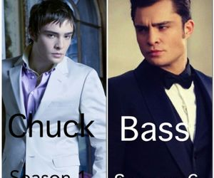 change, chuck bass, and gossip girl image