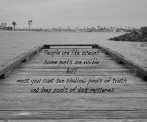 quote, people, and ocean image