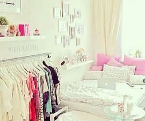 bedroom, cute, and interior image