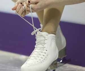 skates, olympian, and figure skater image