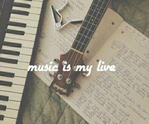 keyboard, music, and piano image