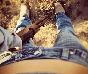 boots, country, and Cowgirl image