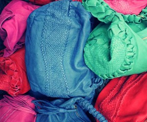 bags, colourful, and colorama image
