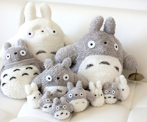 totoro, cute, and kawaii image