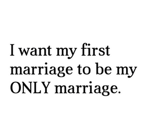 marriage, love, and quote image