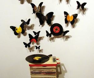 butterflies and art image