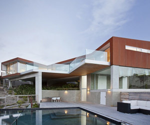 fantastic building, natural space, and contemporary residence image