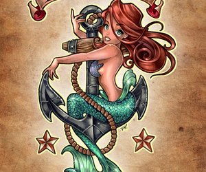 anchor, ariel, and painting image