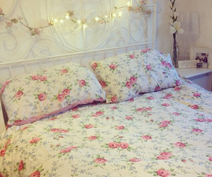 bedroom and floral image