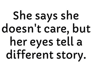 quote, eyes, and story image