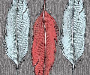 feather and art image