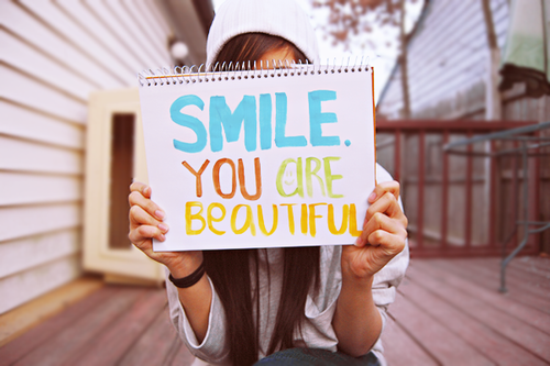 Smile You Are Beautiful Discovered By V V X X