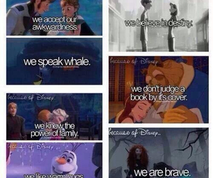 disney, brave, and frozen image