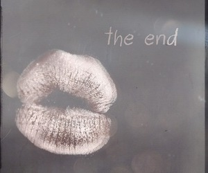 the end and lips image