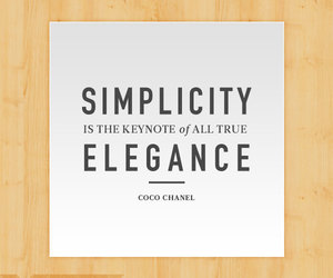 elegance, inspiration, and quote image
