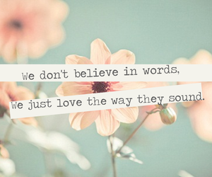 love, words, and quote image