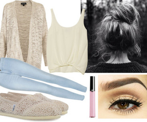 outfit, cardigan, and comfy image