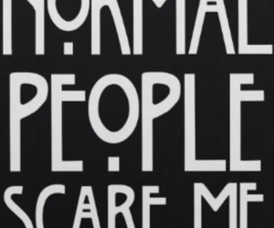 american horror story, normal, and people image