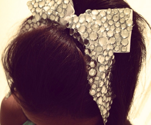 bow, cute, and cheer image