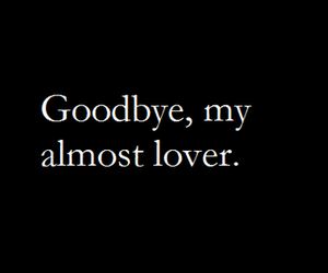 goodbye, lover, and love image