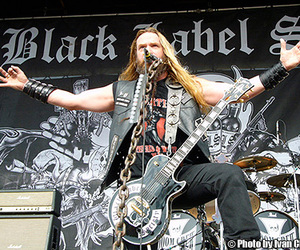 metal, black label society, and hard core image