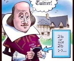 lol, twitter, and shakespeare image