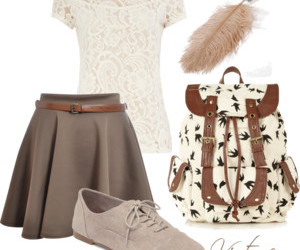 fashion, feather, and lace image