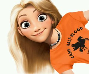 disney, rapunzel, and annabeth chase image