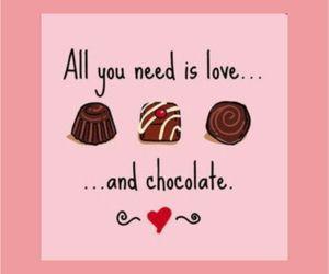 chocolate, love, and cute image