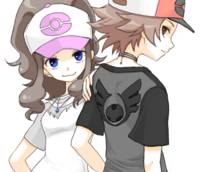black, hilda, and pokemon image