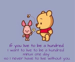 winnie the pooh, disney, and quote image