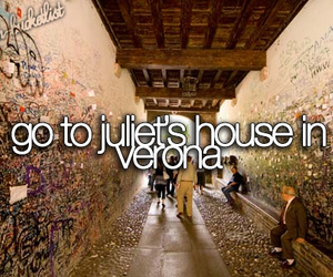 verona, juliet, and bucket list image