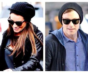 lea michele and monchele image