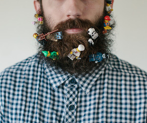beard and hipster image