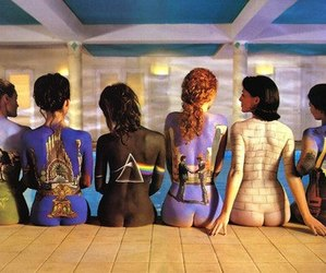 Pink Floyd, art, and woman image