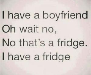 alone, day, and fridge image